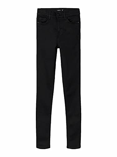 NAME IT Limited by Girl Jeans High Waist Skinny Fit 164Black Denim