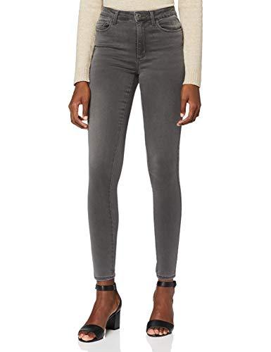 ONLY Damen Onlroyal High Dnm Bj312 Noos Skinny Jeans, Grau (Dark Grey Denim), L 32L EU