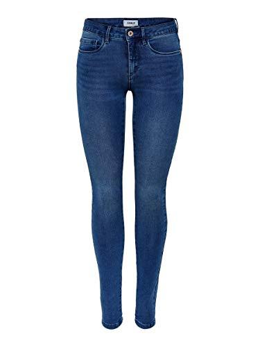 ONLY Female Skinny Fit Jeans ONLRoyal Regular L32Medium Blue Denim
