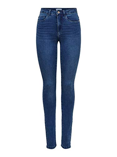 ONLY Female Skinny Fit Jeans ONLRoyal High Waist S30Medium Blue Denim