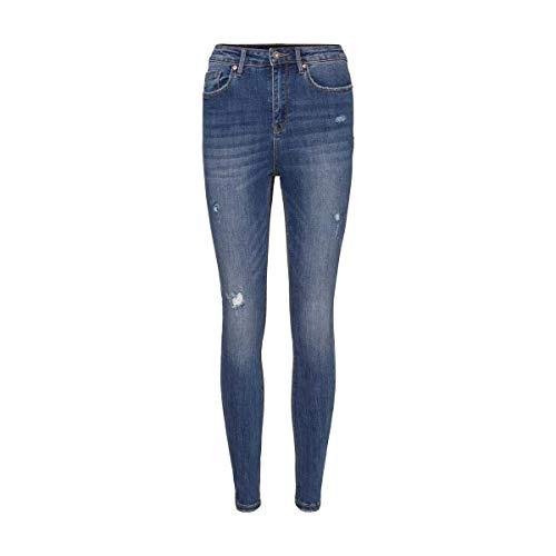 VERO MODA Female Skinny Fit Jeans VMSOPHIA High Waist M32Medium Blue Denim