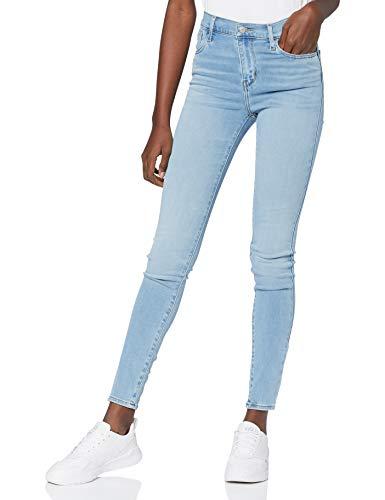 Levi's Damen 720 Hirise Super Skinny Jeans, Azurite, 28W / 30L