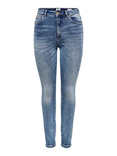 ONLY Female Skinny Fit Jeans ONLRoyal High Waist M32Medium Blue Denim